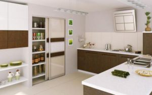 wardrobe sliding doors kitchen