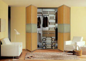 bi folding wardrobe doors