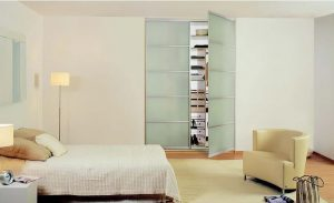 wardrobe sliding doors frosted