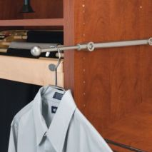 wardrobe valet rod