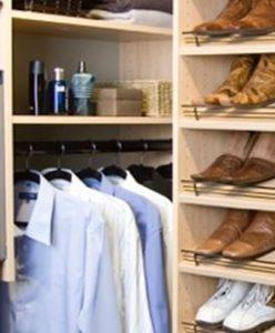 walk in wardrobe hanging rod