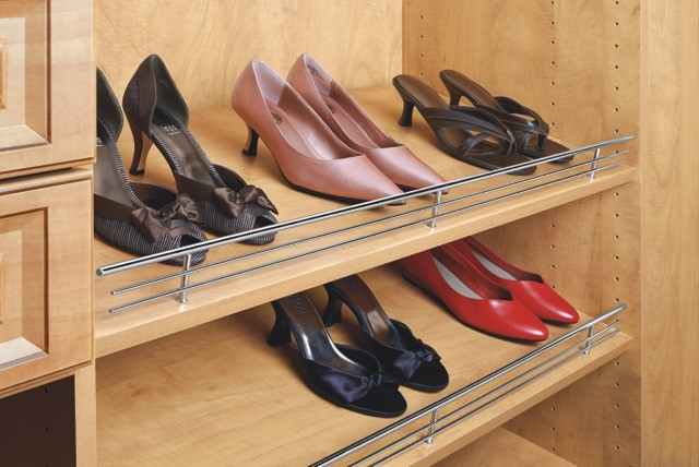 Shoe Organizer Rails for Wardrobes