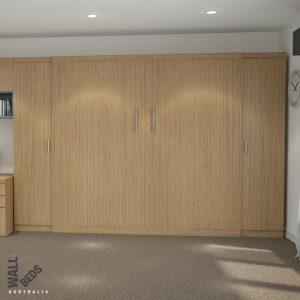 Alpha Bed Full Cupboard Doors Closed