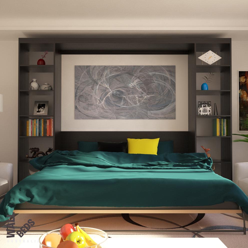 Alpha Bed Open Shelves 2