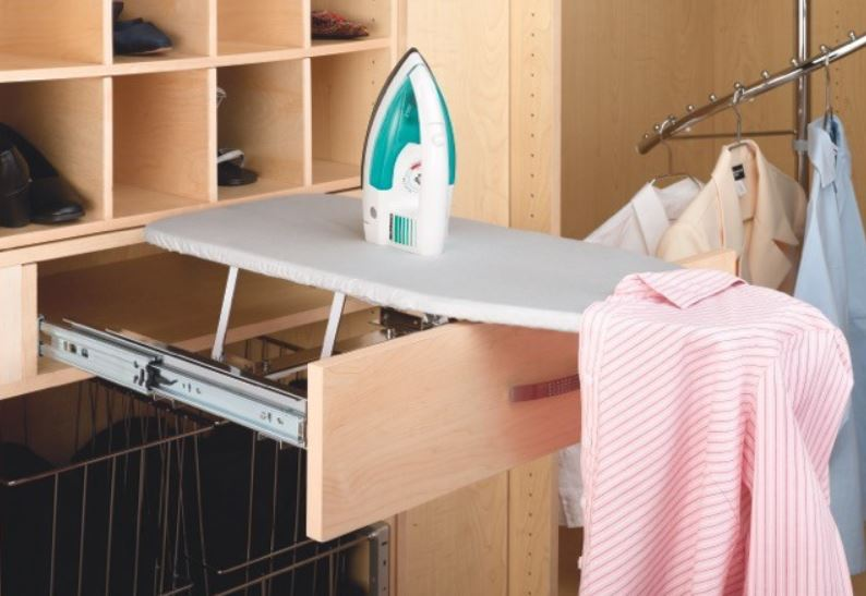 Drawer Accessories Fold Out Ironing Board
