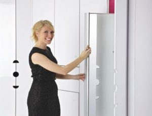 wardrobe mirror insert
