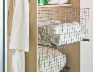 wardrobe clothes basket