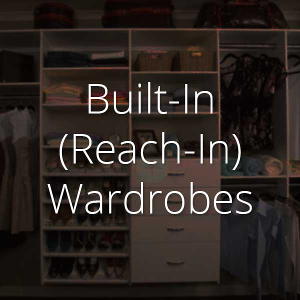 reach-in wardrobes selector