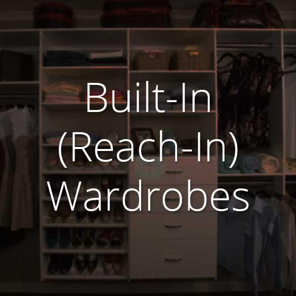 reach-in wardrobes selector
