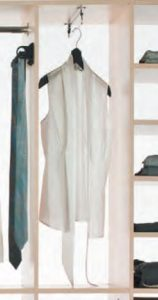 wardrobe side shirt pull out rack