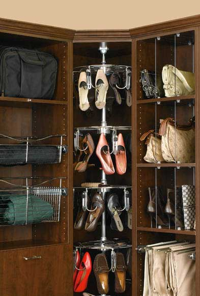 wardrobe shoe carousel