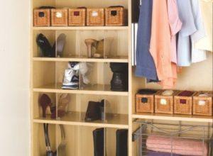 wardrobe shoe organiser
