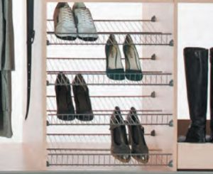 wardrobe shoe shelf