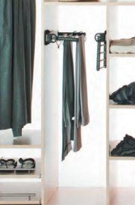 wardrobe shirt rack