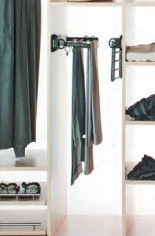 Pants & skirt rack