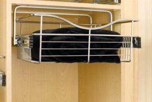 top mount bracket wire basket