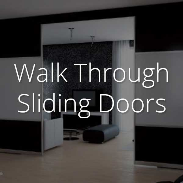 walk-through sliding doors selector