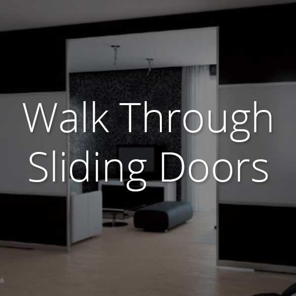 walk-through sliding doors selector