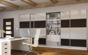 wardrobe sliding doors office