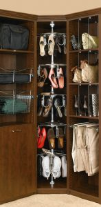 wardrobe shoe carousel womens