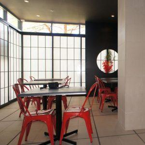 Classic Shoji Screens cafe
