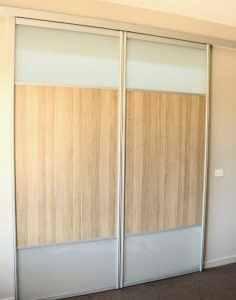 wood grain room divider