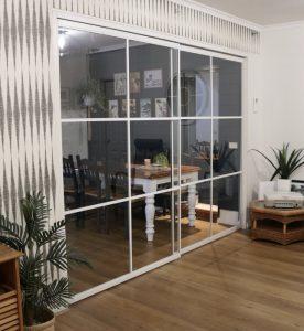 room divider glass