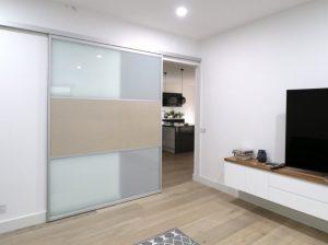 lounge room divider or sliding door