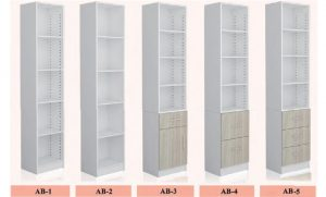 wall bed shelves or book cases