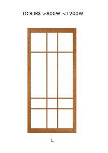 Shoji Door Design example