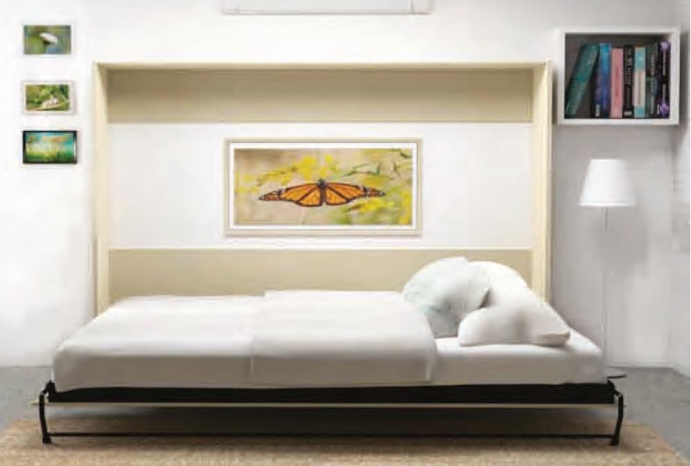 wall bed horizontal